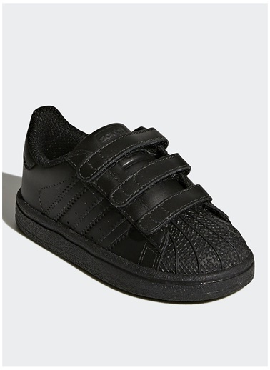adidas Adidas Bz0417 Superstar Cf I Bebek Yürüyüş Ayakkabısı Siyah